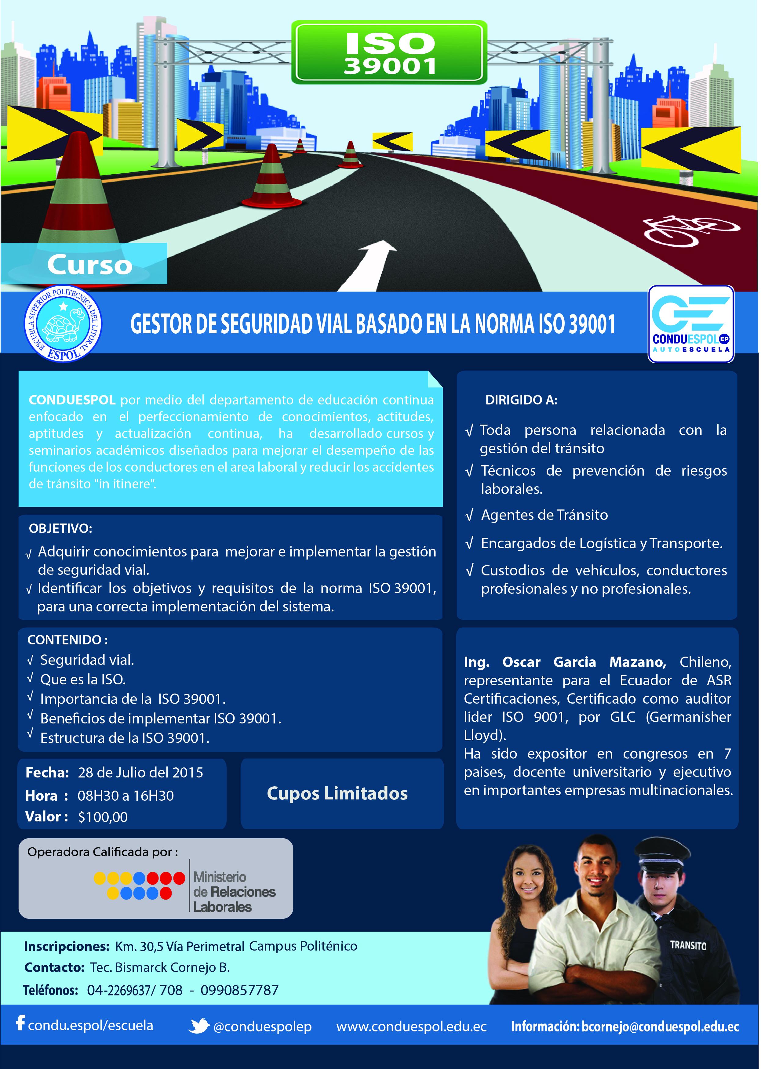 Curso ISO 39001